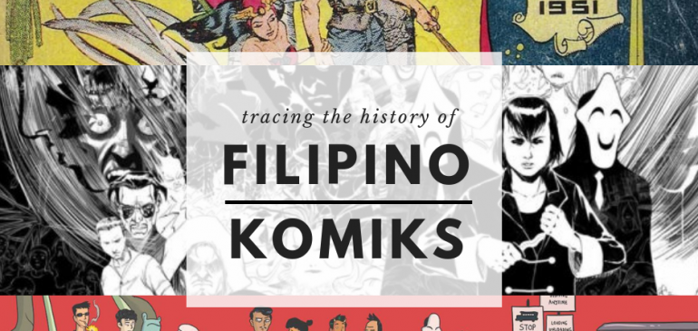 Breakwater Talks: Filipino & English : Tracing the History of Filipino Komiks