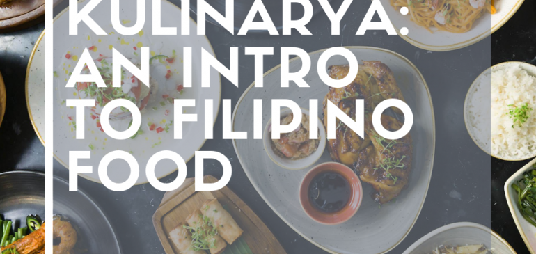 Breakwater Talks: Filipino & English : Kulinarya: An Intro to Filipino Food & Amorpha's 10th Birthday